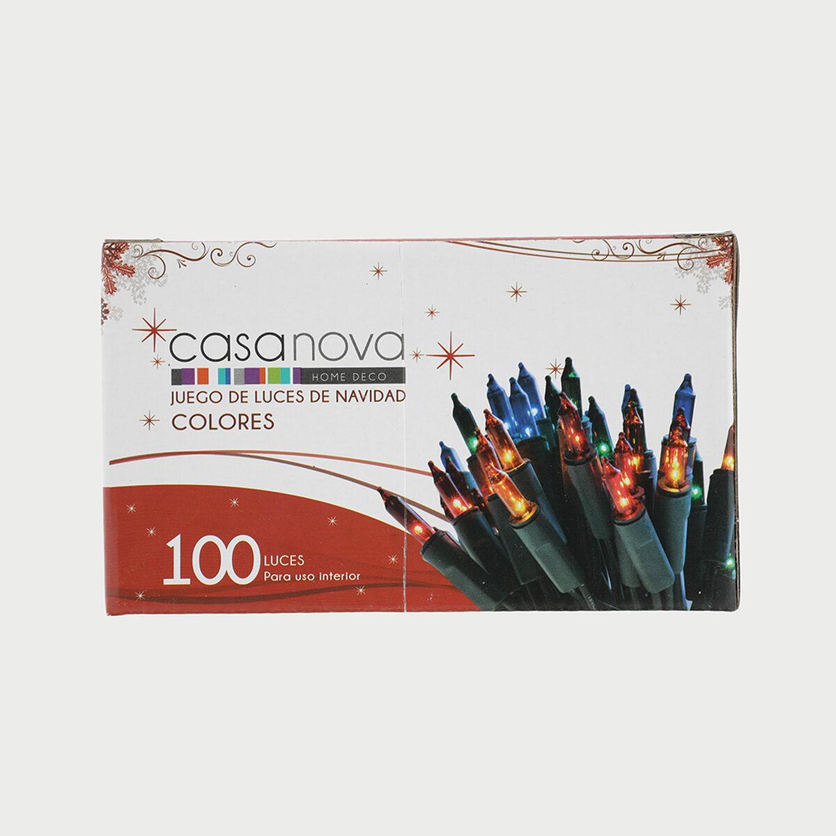 Set 100 Luces Colores