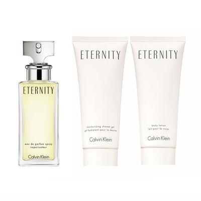 Eternity Women EDP 50 ml + Body Lotion + Showerl Gel