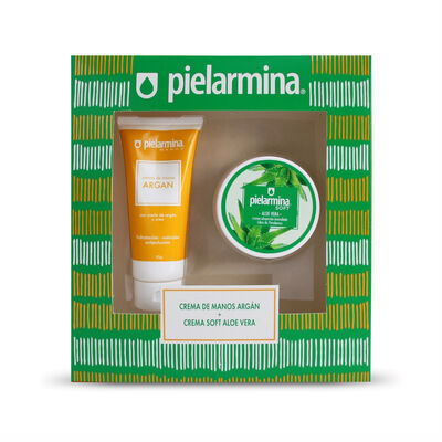 Estuche Crema Pielarmina Argán + Soft Aloe Vera
