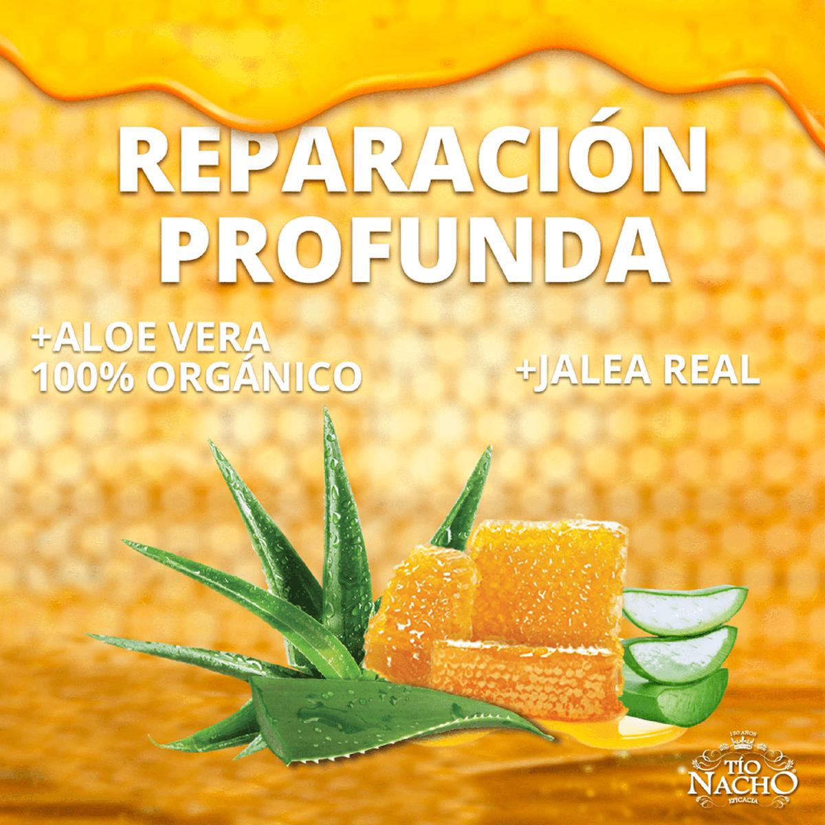 Pack Tío Nacho Aloe Vera Shampoo + Acondicionado + Crema de Peinar