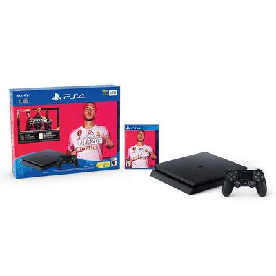 Bundle Pack PS4 Slim 1TB + Control + FIFA 2020
