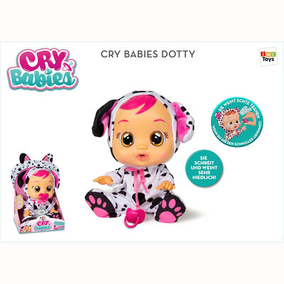 CRY BABIES DOTTY (dalmatian) CRY BABIES