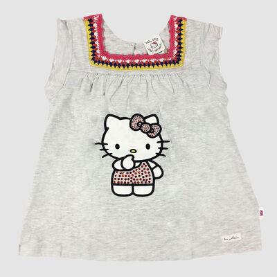 Polera Niña Hello Kitty