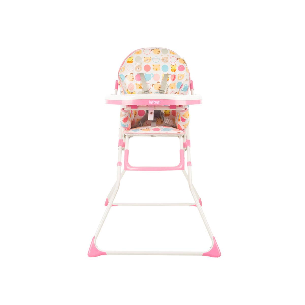 Silla de Comer Candy Zoo Pink