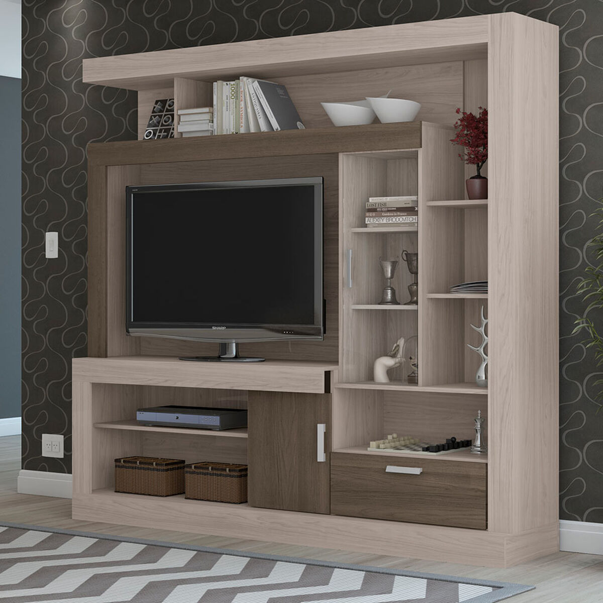 "Home TV Florencia Hasta 54"""