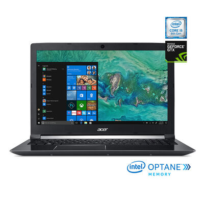 "Notebook Acer AN515-52-51RW Core i5 4GB 1TB 15.6"" NVIDIA GTX1050 + 16GB Optane"