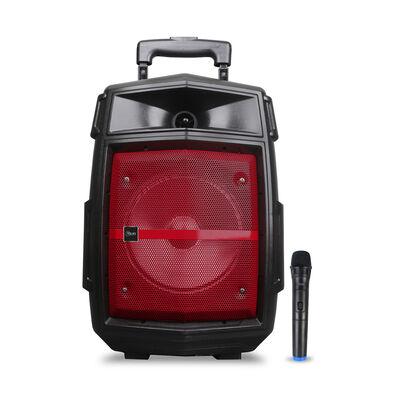 Parlante Karaoke Portátil Microlab TriangleBASS Rojo
