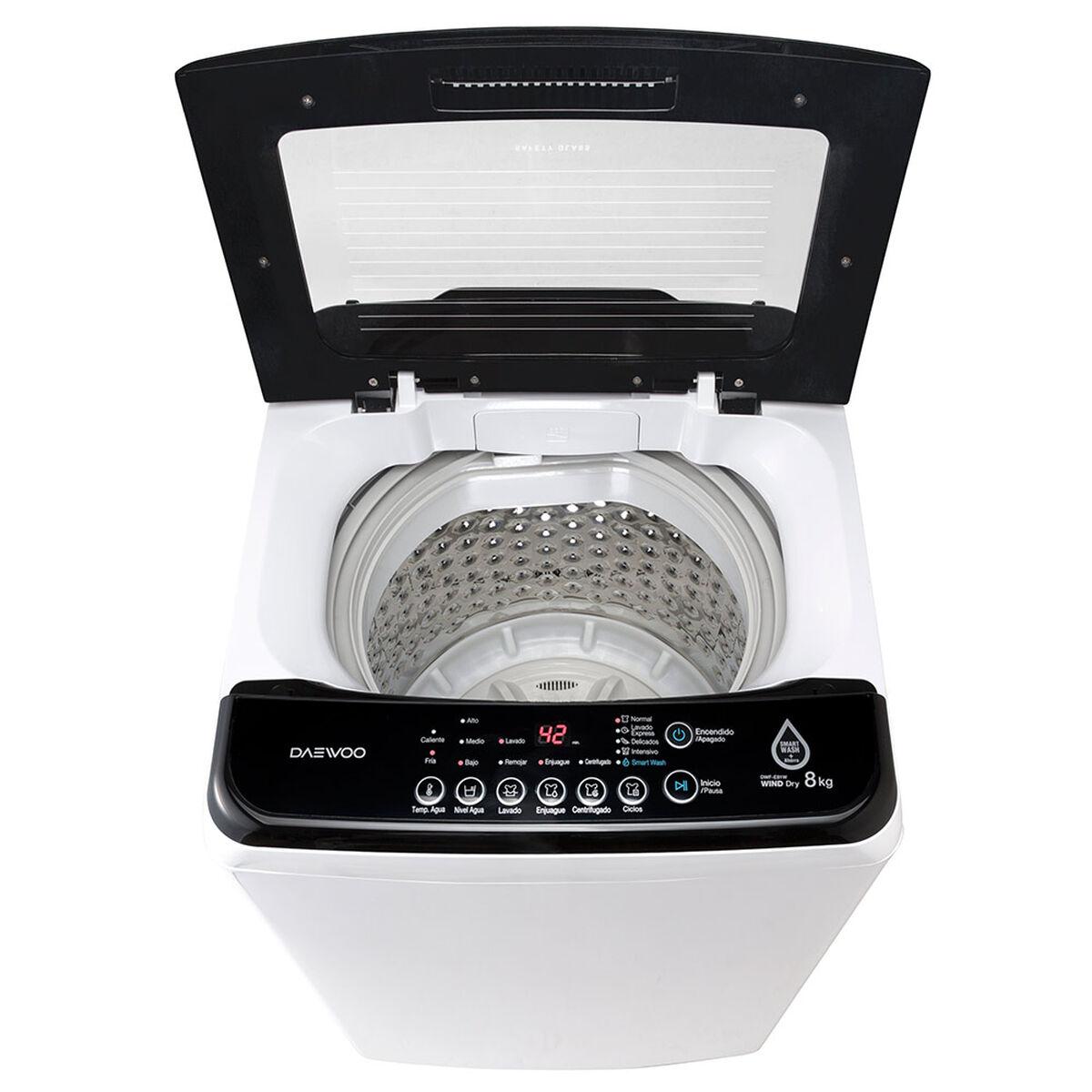 Lavadora Automática Daewoo DWF E81W 8 kg