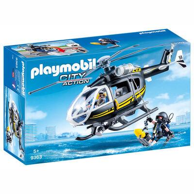 Helicóptero Fuerzas Especiales Playmobil