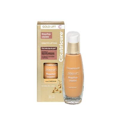 Cicatricure Gold Lift Maquillaje Liquido Medium 30 ml