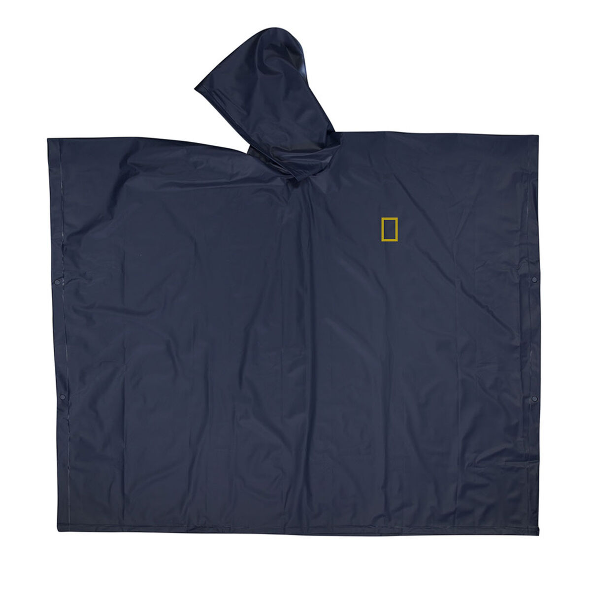 Poncho National Geographic Azul