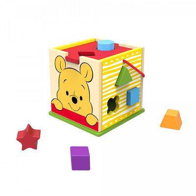 Cubo Shape Sorter Winnie Disney