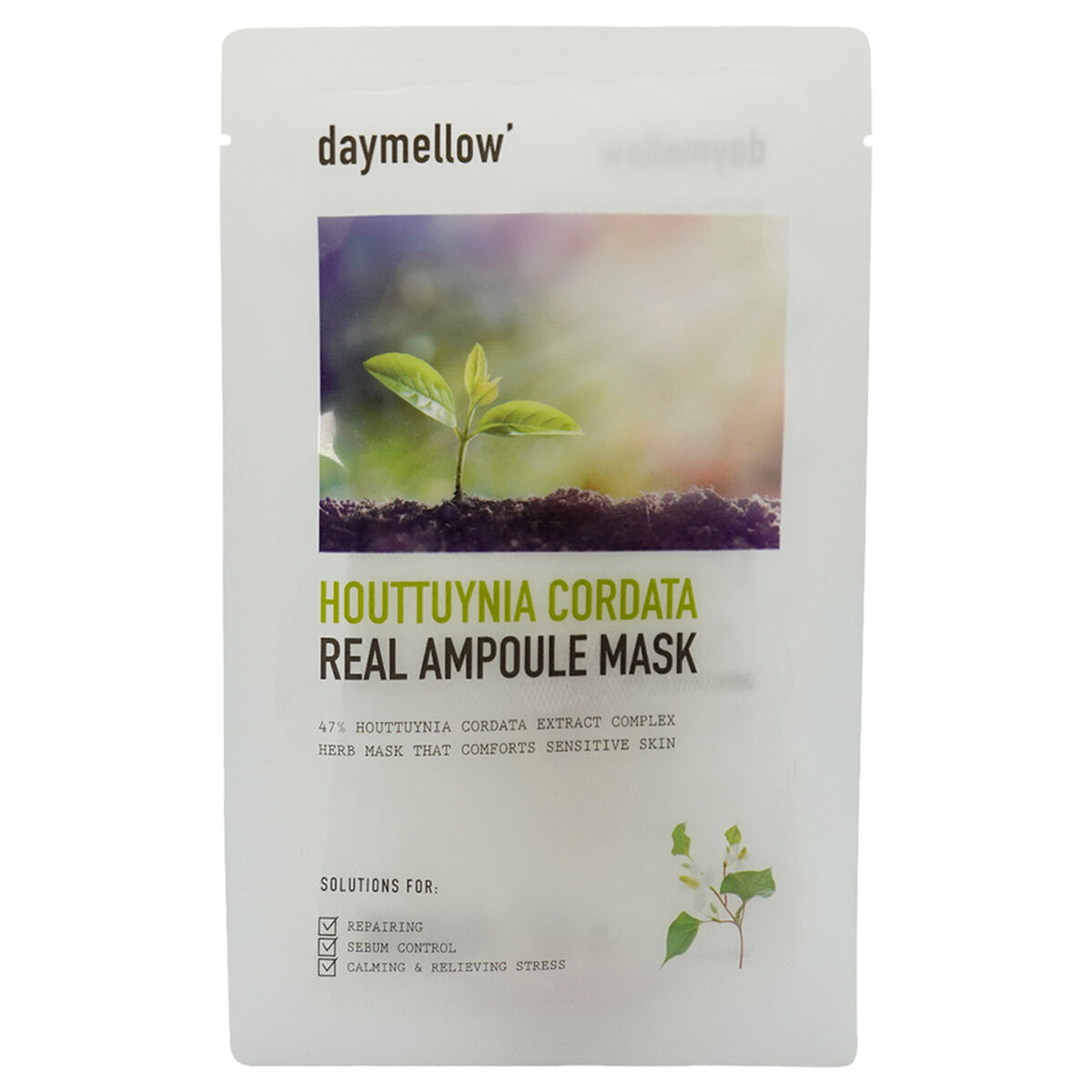 Houttuynia Cordata Real Ampoule Mask
