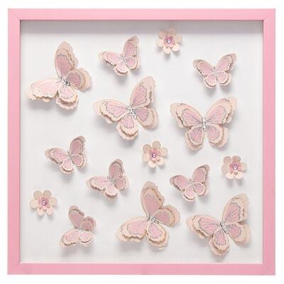 Cuadro Relieve Serie Mariposas