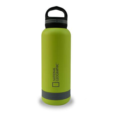 Botella Metálica National Geographic 750ml Verde