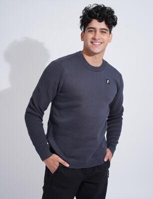 Sweater de Algodón Hombre Fiorucci