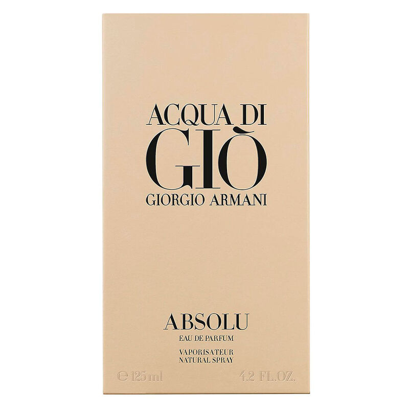 Perfume Giorgio Armani ACQUA DI GIO ABSOLU 125 ml.