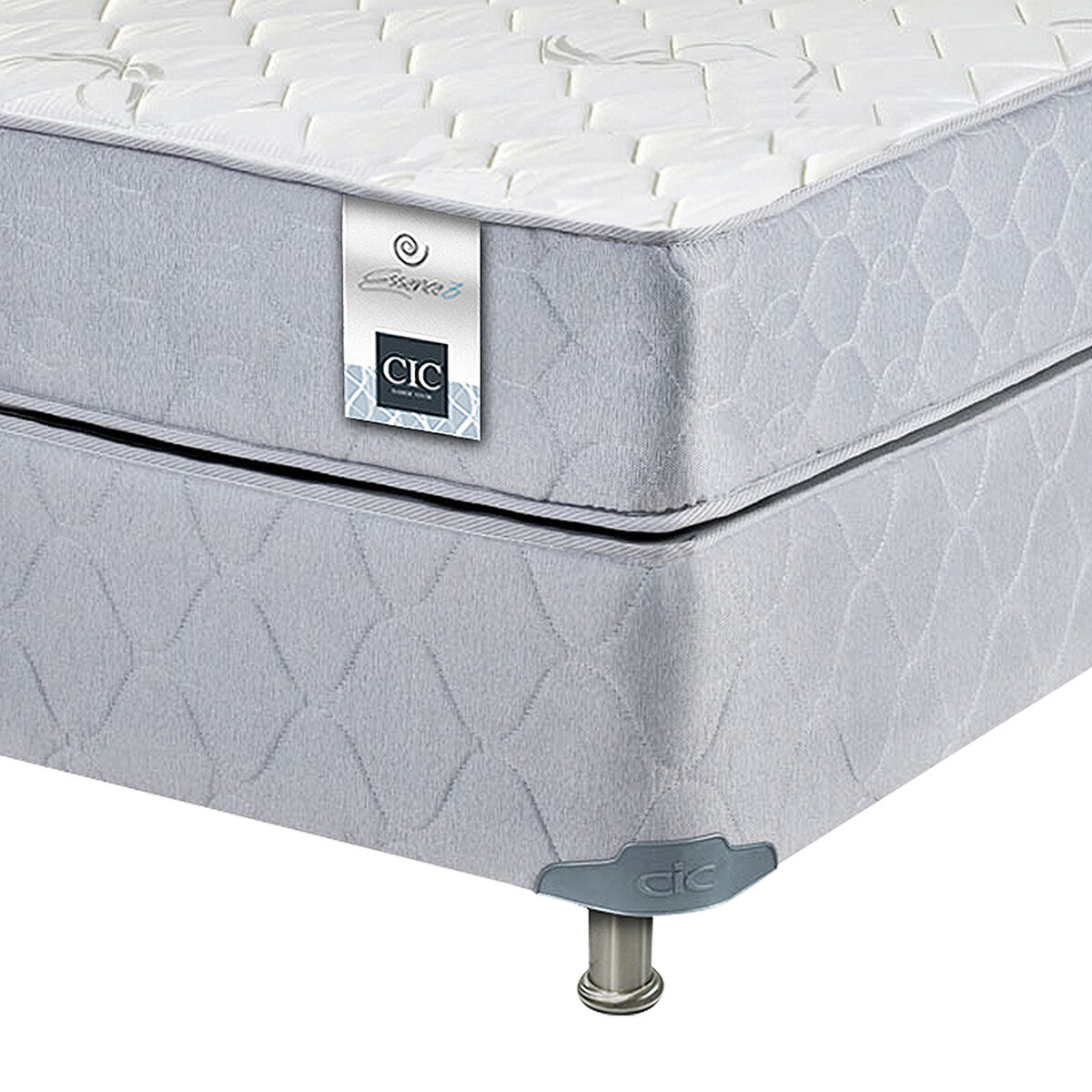 Box Americano CIC 1 Plaza+Set Munich+Textil+Almohada