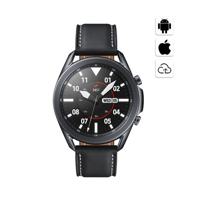 """Smartwatch Samsung Galaxy Watch 3 8GB 1GB 1.4"""" Mystic Black"""