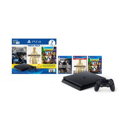PS4 1TB + 7 Juegos + 3 Meses PS Plus + Control Dualshock