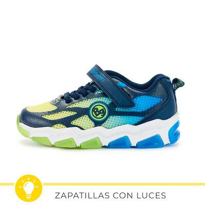 Zapatilla Con Luces Niño Bubble Gummers