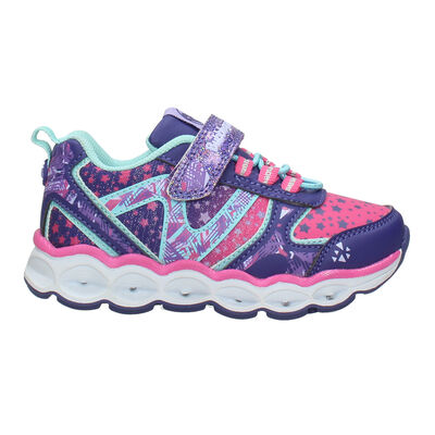 Zapatilla Niña Bubble Gummers  con Luces Drops