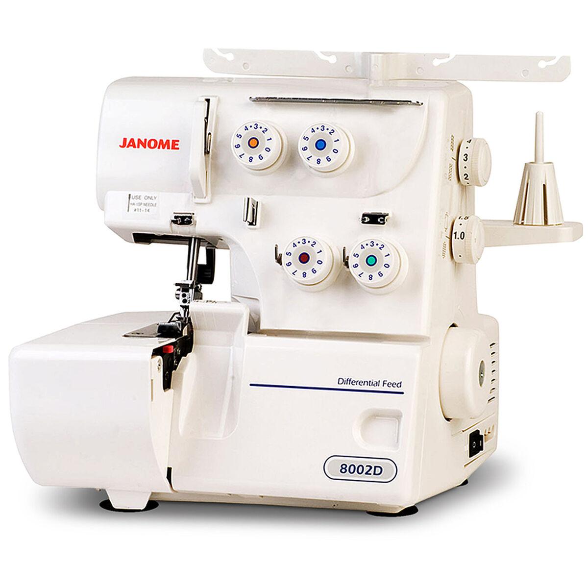Máquina de Coser Overlock Janome 8002D