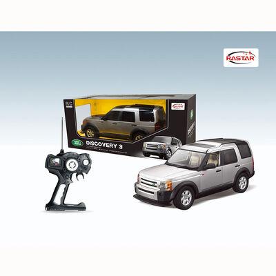 Auto R/C Rastar Land Rover Discovery Plateado 1:14