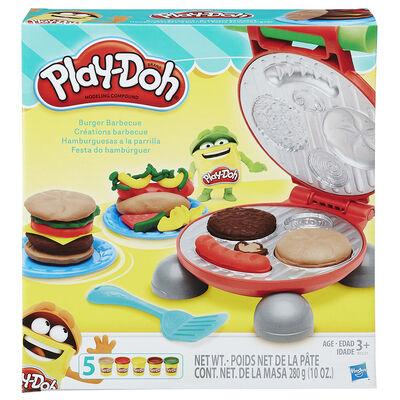 Play-Doh Kitchen Creations Hamburguesas A La Parrilla