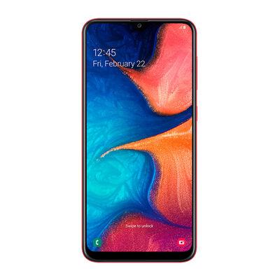 """Celular Samsung Galaxy A20 6,4"""" Rojo WOM"""