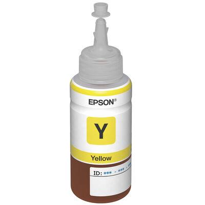 Tinta Epson Color  T-664 Yellow