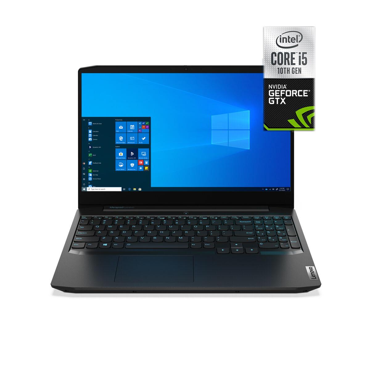 "Notebook Gamer Lenovo Gam3-15IMH05 Core i5-10300H 8GB 1TB 15.6"" NVIDIA GTX1650"