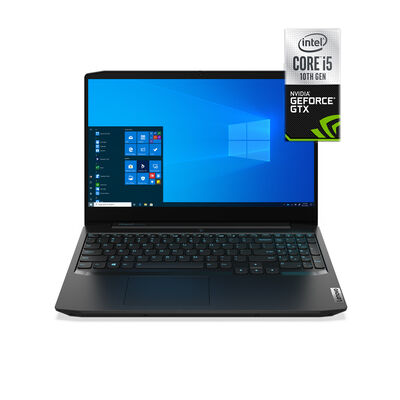 "Notebook Gamer Lenovo Gam3-15IMH05 Core i5-10300H 8GB 1TB 15.6"" NVIDIA GTX1650"
