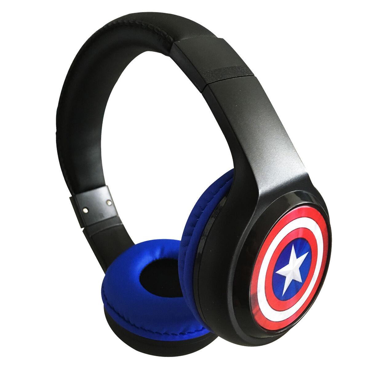 Audífonos Bluetooth Capitán América Marvel