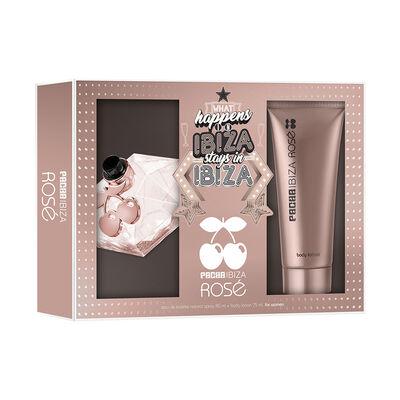 Set Pacha Ibiza Queen Rosé EDT 80 ml + Body Lotion 75 ml