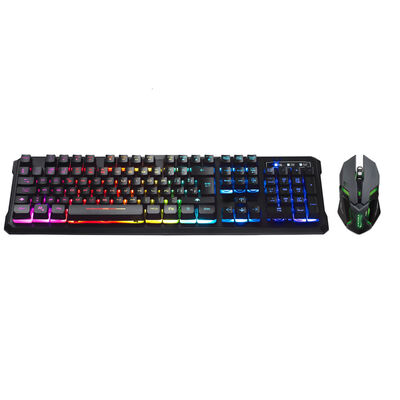 Combo Gamer Teclado + Mouse Ghost Knight 2 Njoytech