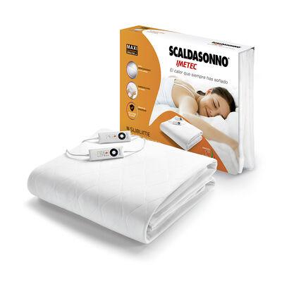 Calientacamas Scaldasonno 2 Plazas Sublime Maxi Blanco