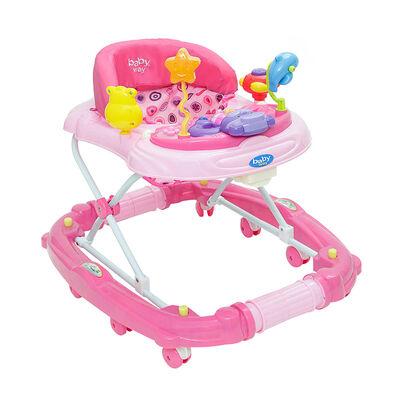 Andador Baby Way BW-916P18 Rosado