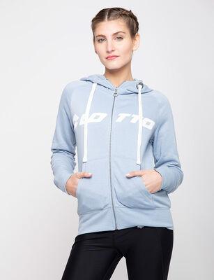 Polerón Full Zip Deportivo Mujer