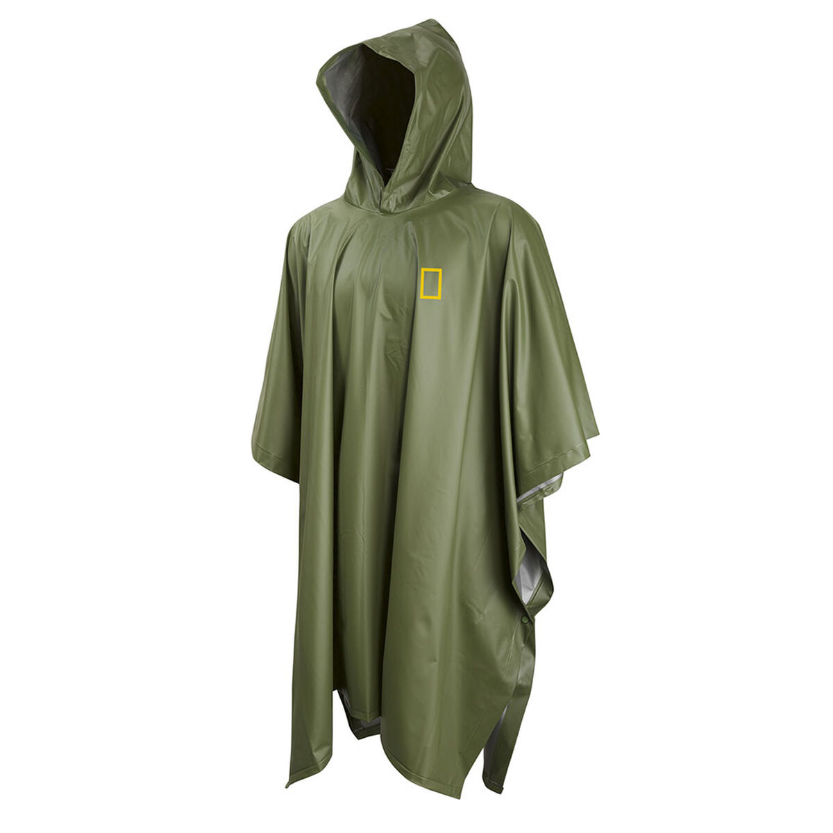 Poncho National Geographic Verde