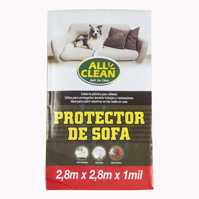 Funda Protectora de Sofá Allclean Blanco 280 x 280 cm