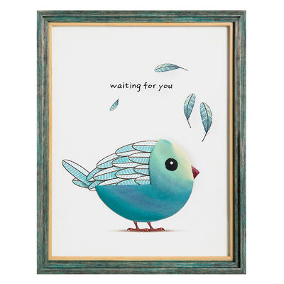 Cuadros Con Relieve Serie Bird