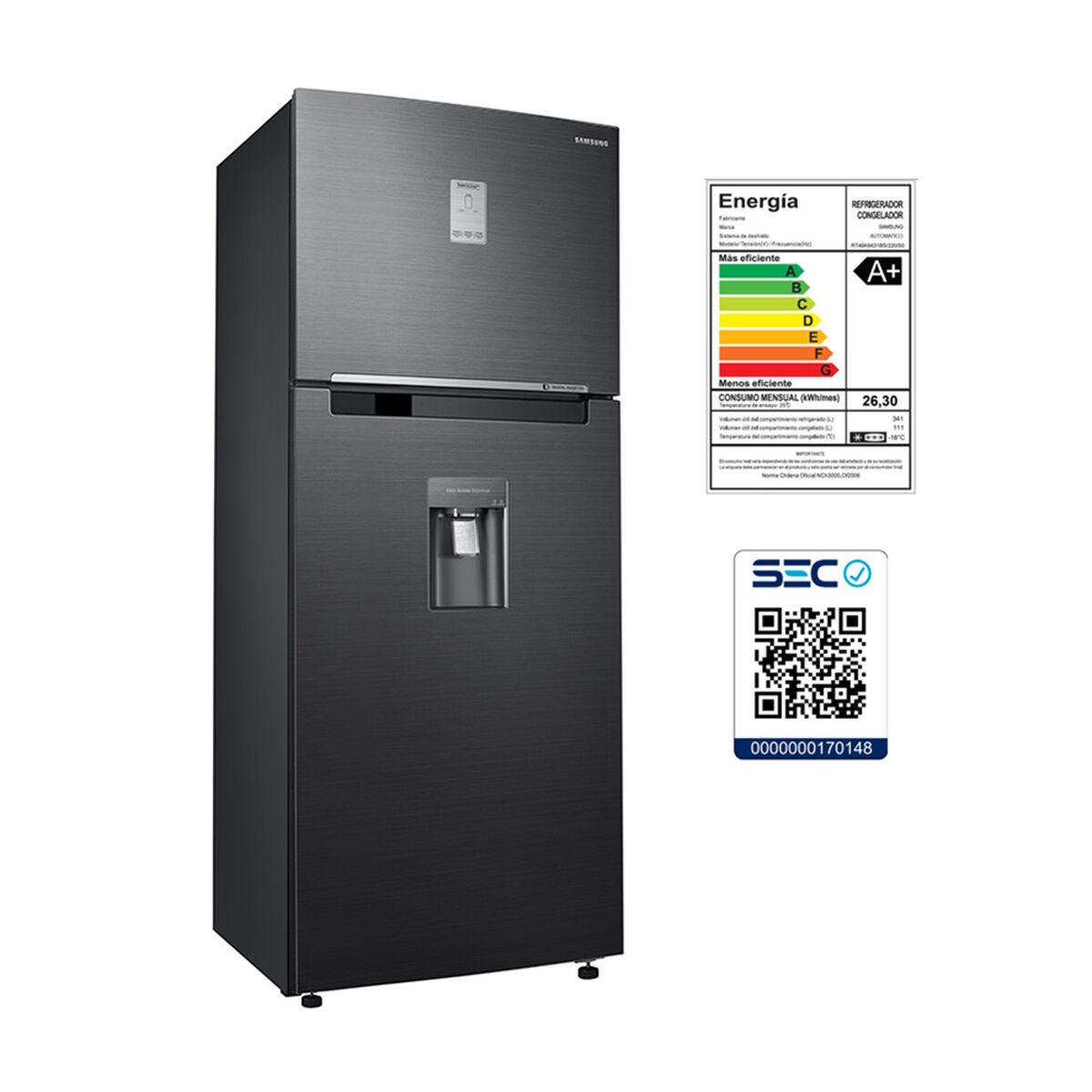 Refrigerador No Frost Samsung RT46K6631BS/ZS 452 lt