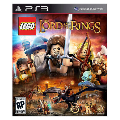 Juego PS3 LEGO Lord of the Rings + Pelicula Bluray