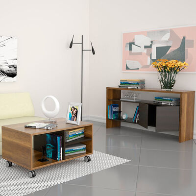 Mesa de Centro + Arrimo TuHome Classic Color