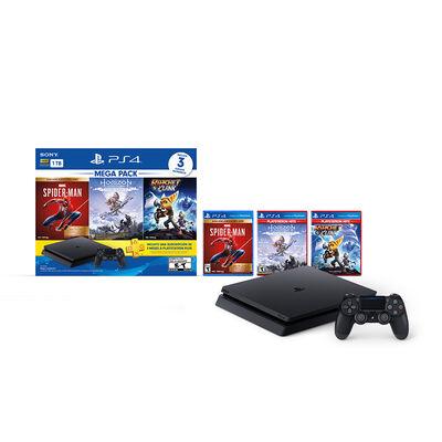 Bundle Megapack 15 Sony PS4 1TB + Control  DualShock + Marvel Spider-Man + Horizon Zero Dawn + Ratchet & Clank