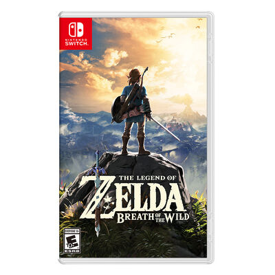 Juego Nintendo Switch The Legend of Zelda: Breath of the Wild