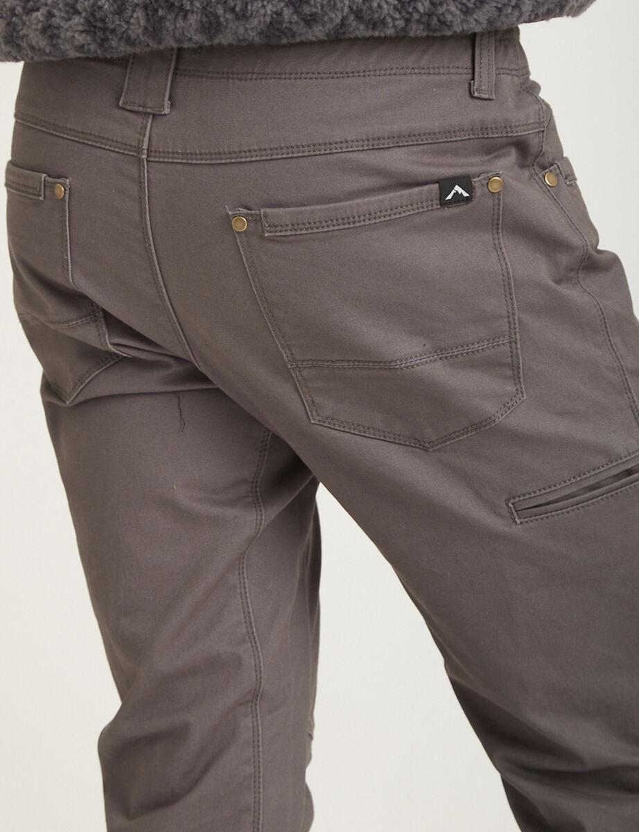 Pantalón de Buzo Algodón Hombre Alpinextrem