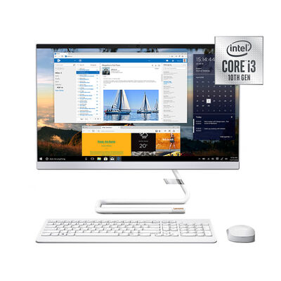 """All In One Lenovo A340-24IWL Core i3 4GB 1TB 23,8"""" Blanco"""