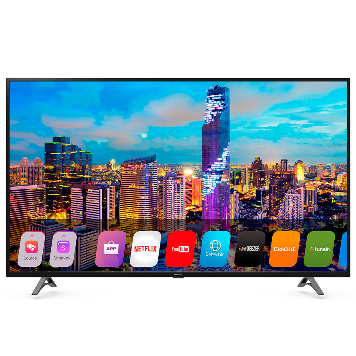 LED 50'' Master-G MG4S50 Smart TV Ultra HD